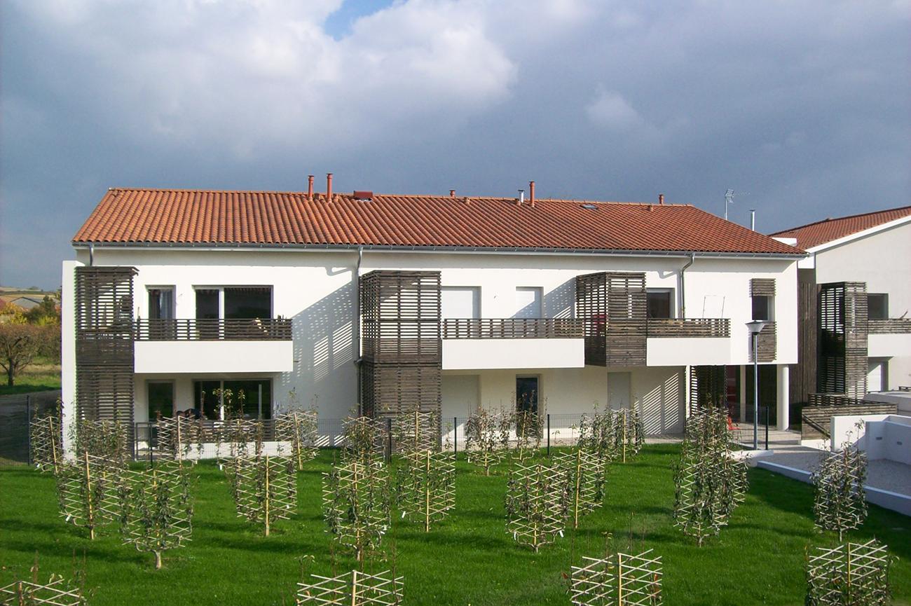 Projet immobilier sur un terrain agricole