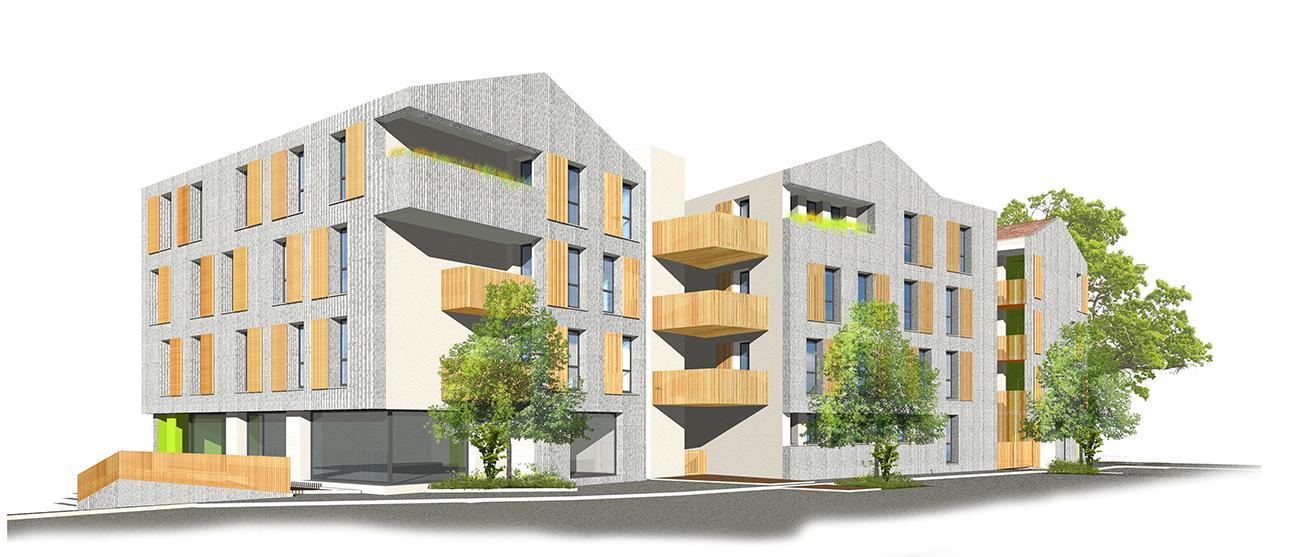 Construction d'un immeuble avec un promoteur immobilier