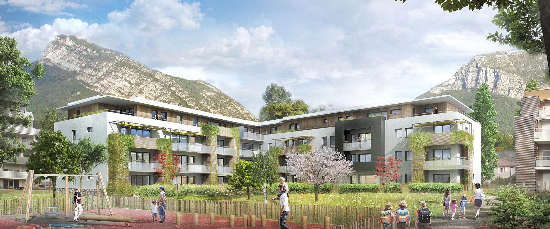 Projet immobilier suite à la vente d'un terrain à un promoteur